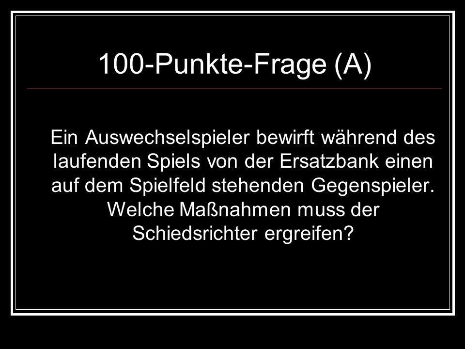 100-Punkte-Frage (A)