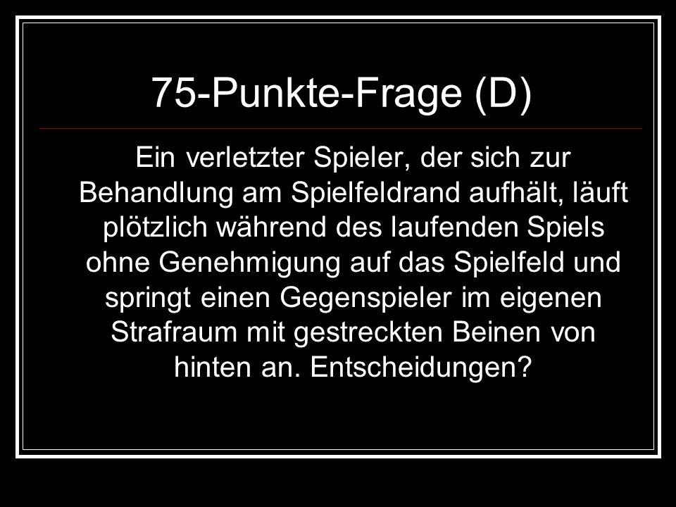 75-Punkte-Frage (D)