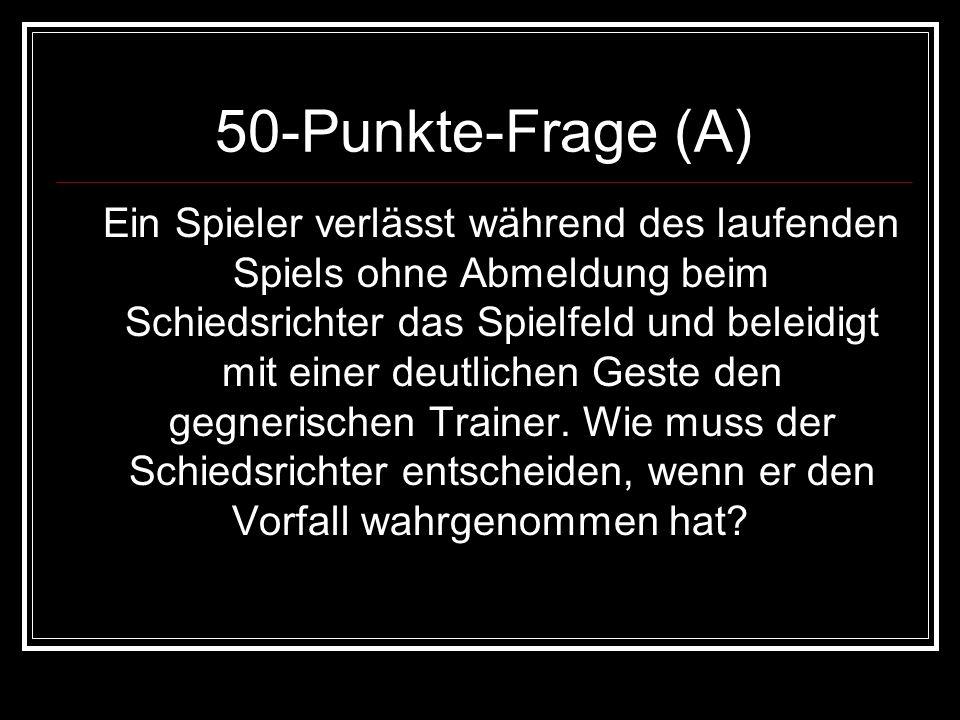 50-Punkte-Frage (A)
