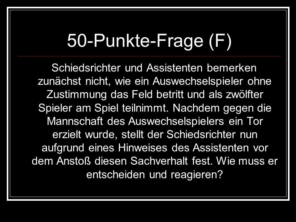 50-Punkte-Frage (F)