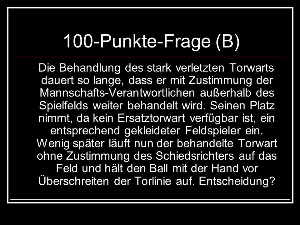 100-Punkte-Frage (B)