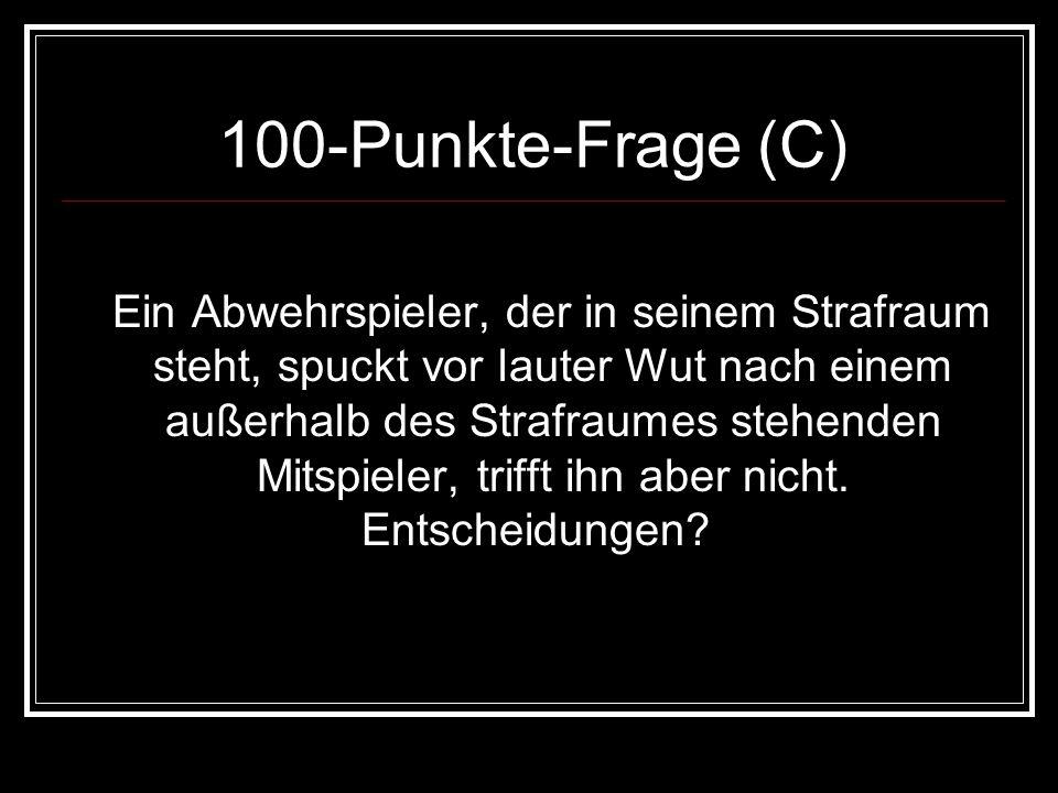 100-Punkte-Frage (C)
