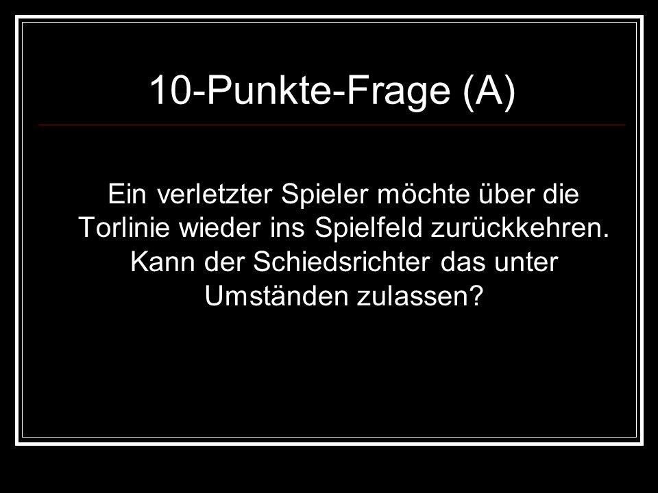 10-Punkte-Frage (A)