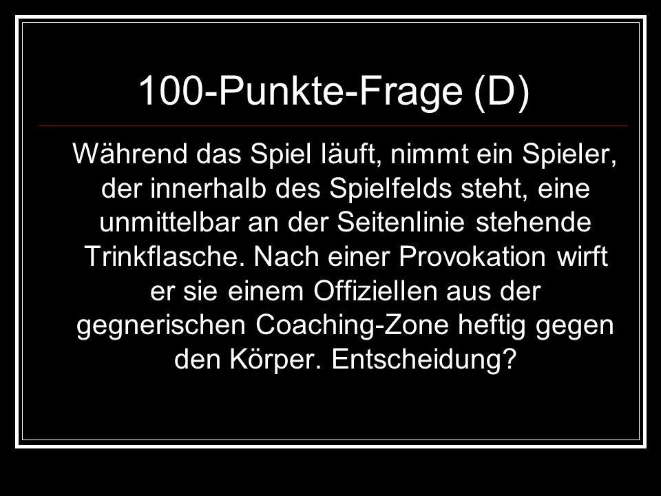 100-Punkte-Frage (D)