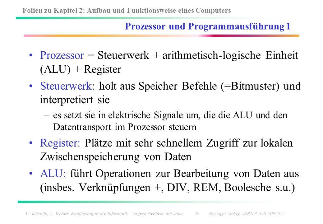 Prozessor und Programmausführung 1
