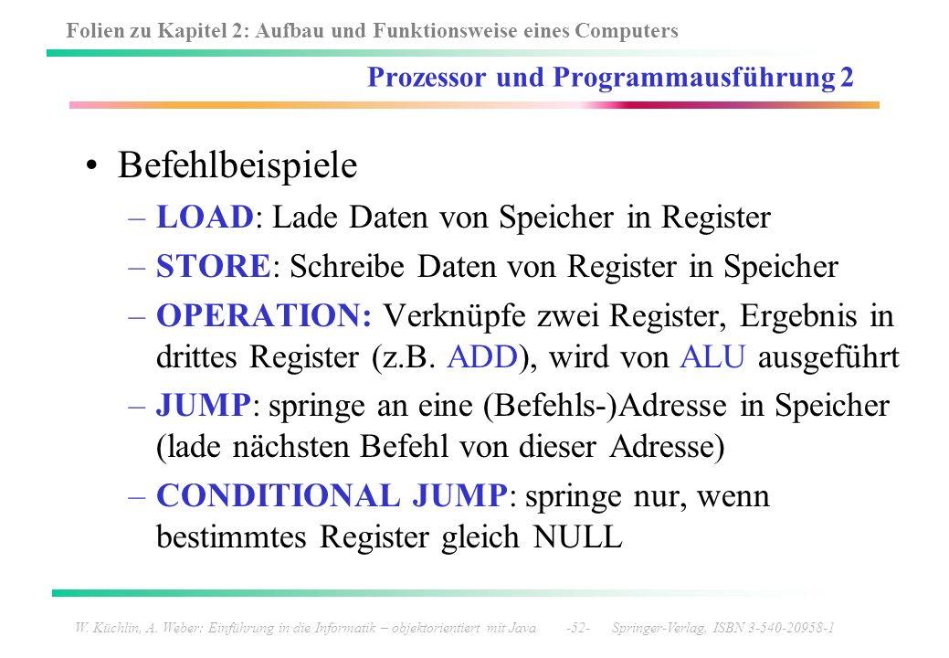 Prozessor und Programmausführung 2