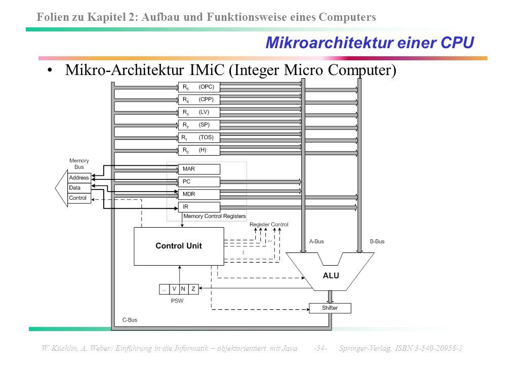 Mikroarchitektur einer CPU