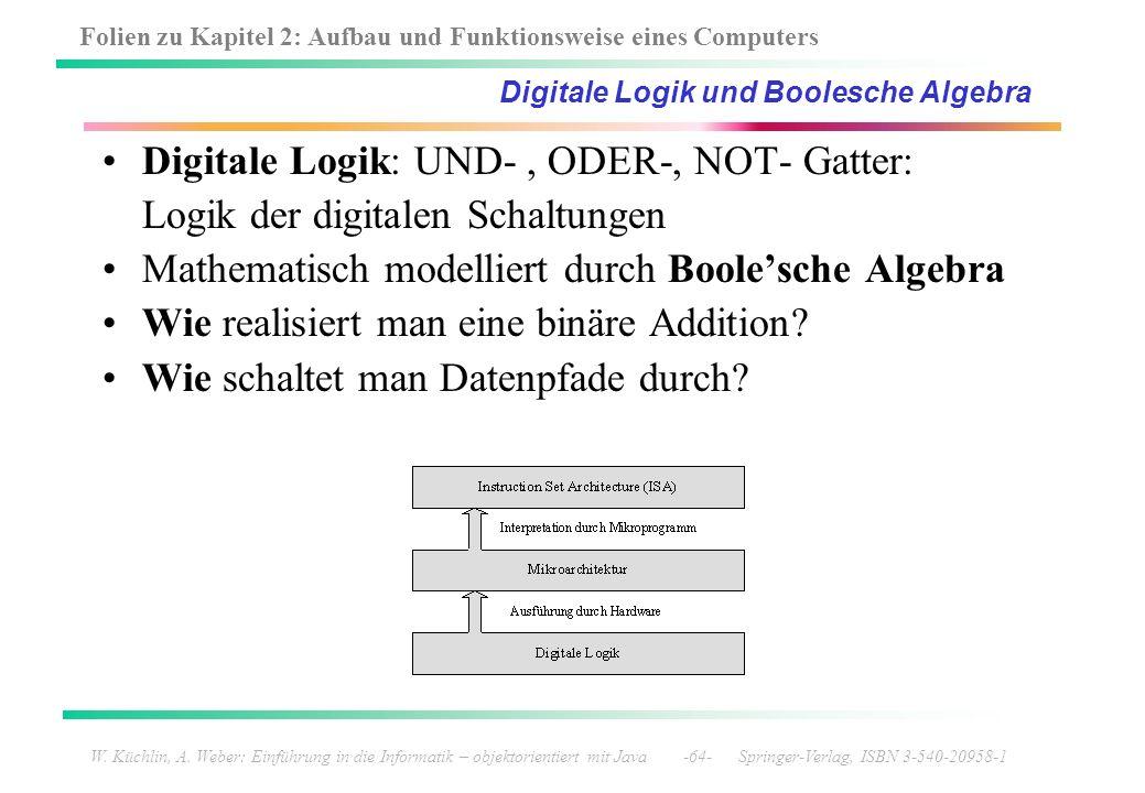 Digitale Logik und Boolesche Algebra