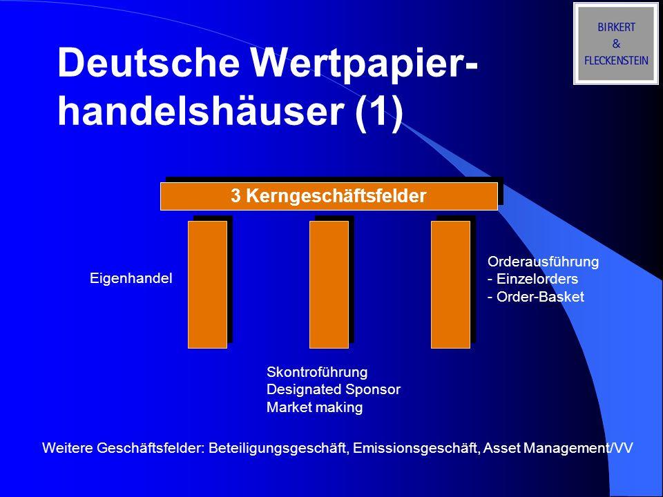 Deutsche Wertpapier-handelshäuser (1)