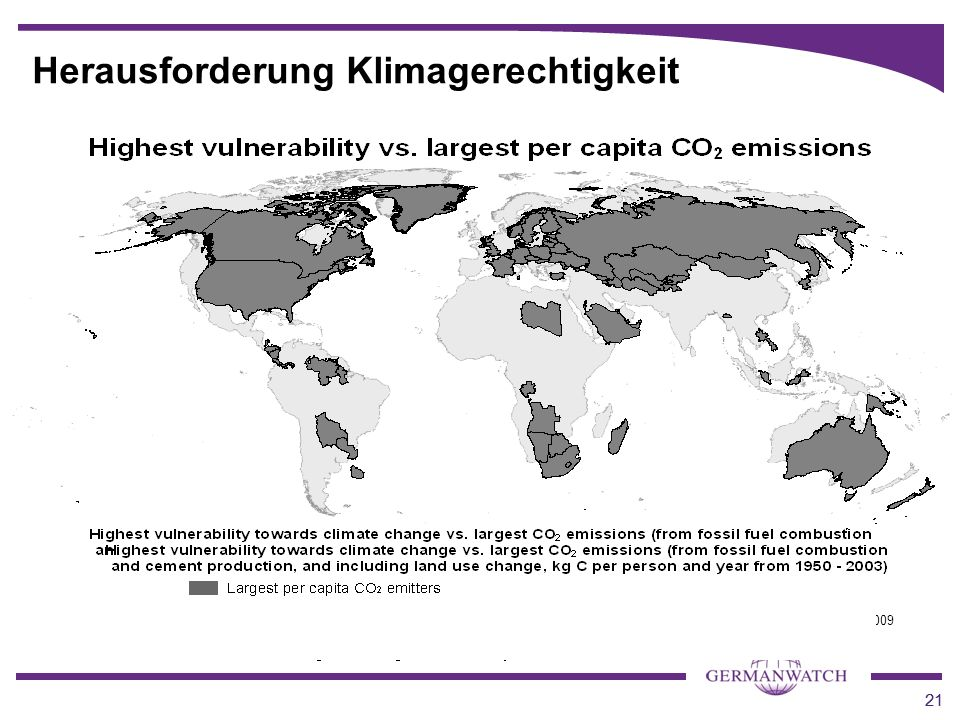 Herausforderung Klimagerechtigkeit