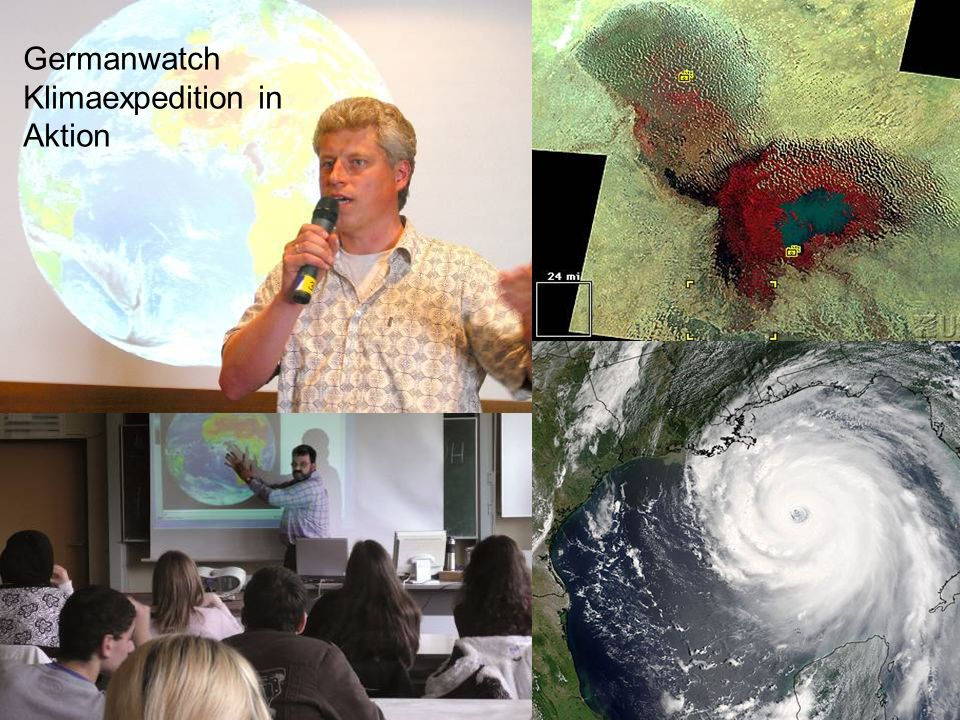 Germanwatch Klimaexpedition in Aktion