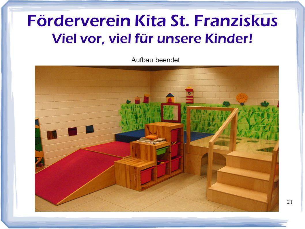 Förderverein Kita St. Franziskus Viel vor, viel für unsere Kinder!