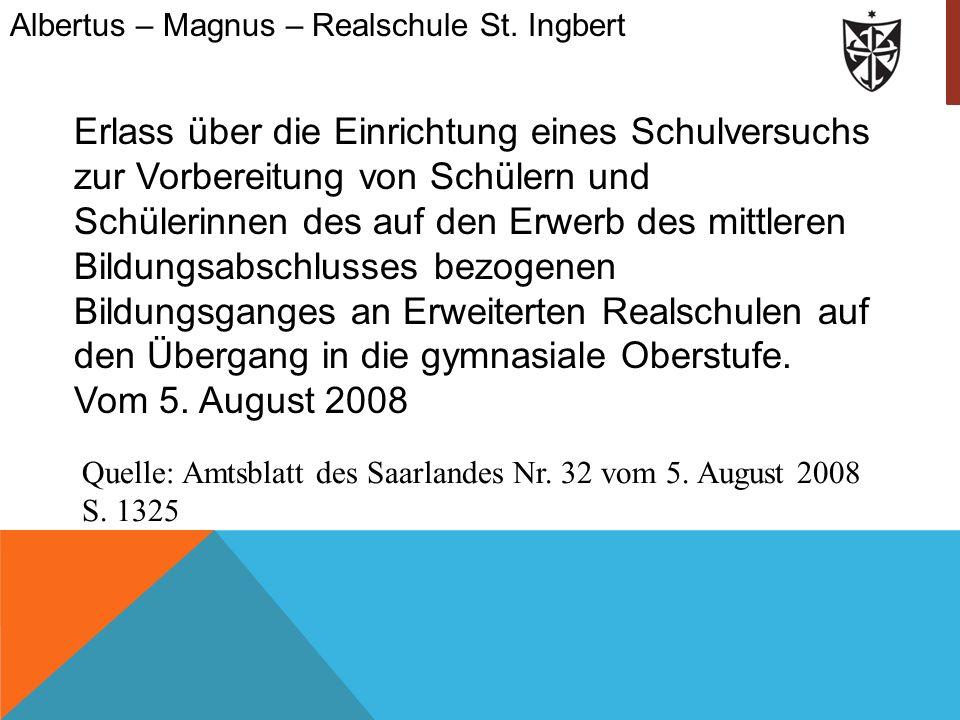 Albertus – Magnus – Realschule St. Ingbert