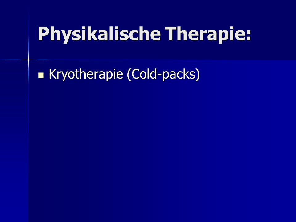 Physikalische Therapie: