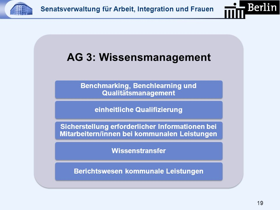 AG 3: Wissensmanagement