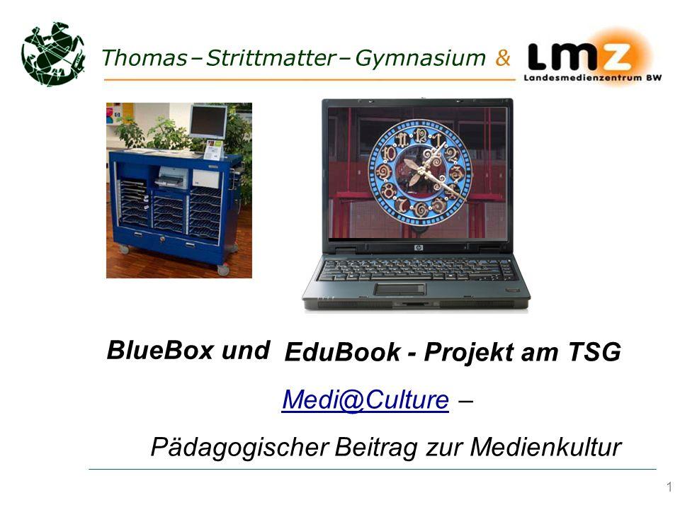 BlueBox und EduBook - Projekt am TSG