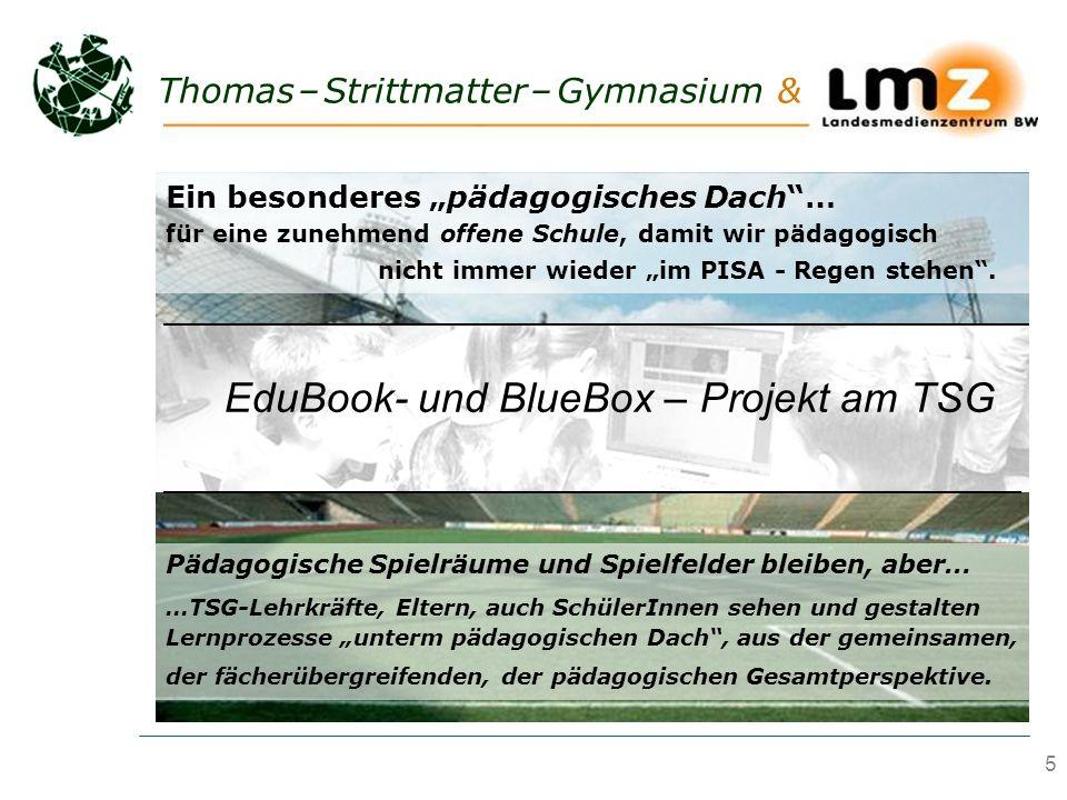 EduBook- und BlueBox – Projekt am TSG