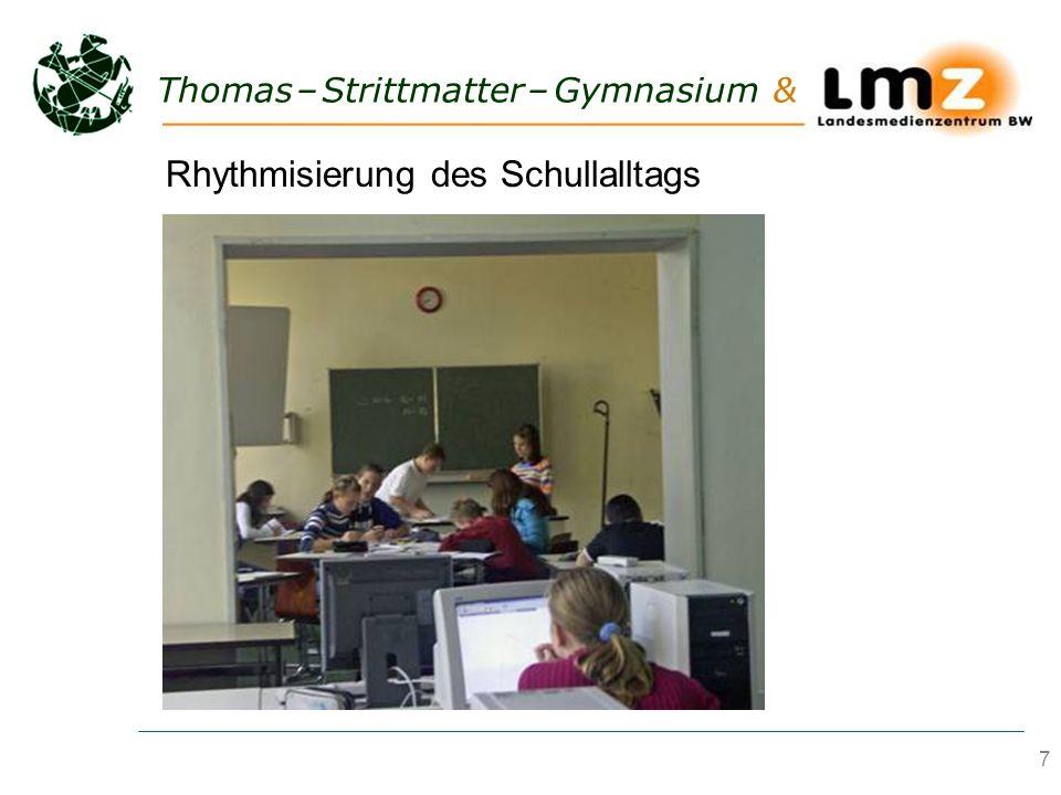Rhythmisierung des Schullalltags