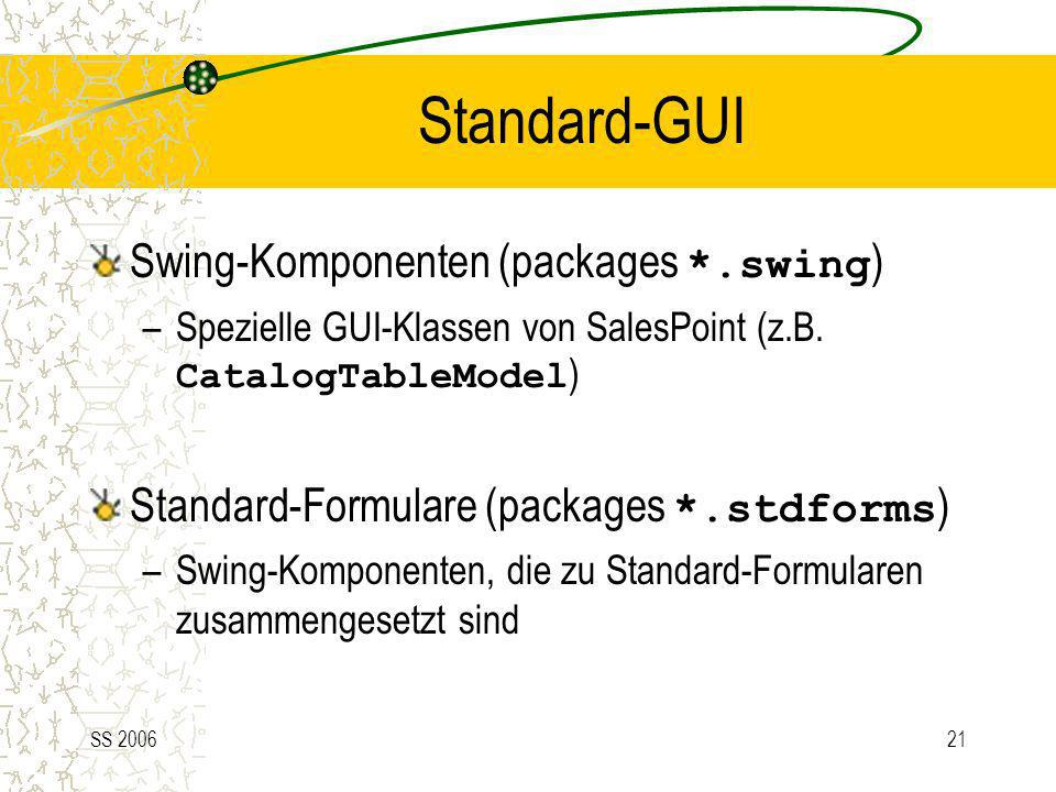 Standard-GUI Swing-Komponenten (packages *.swing)