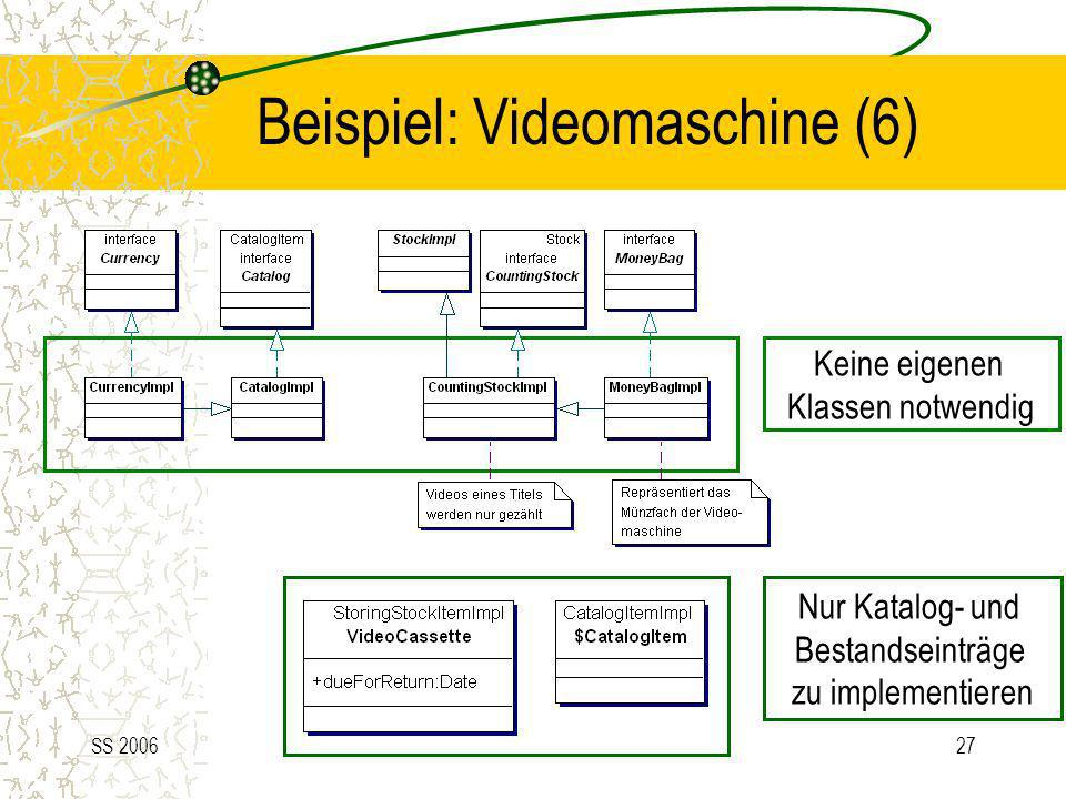 Beispiel: Videomaschine (6)