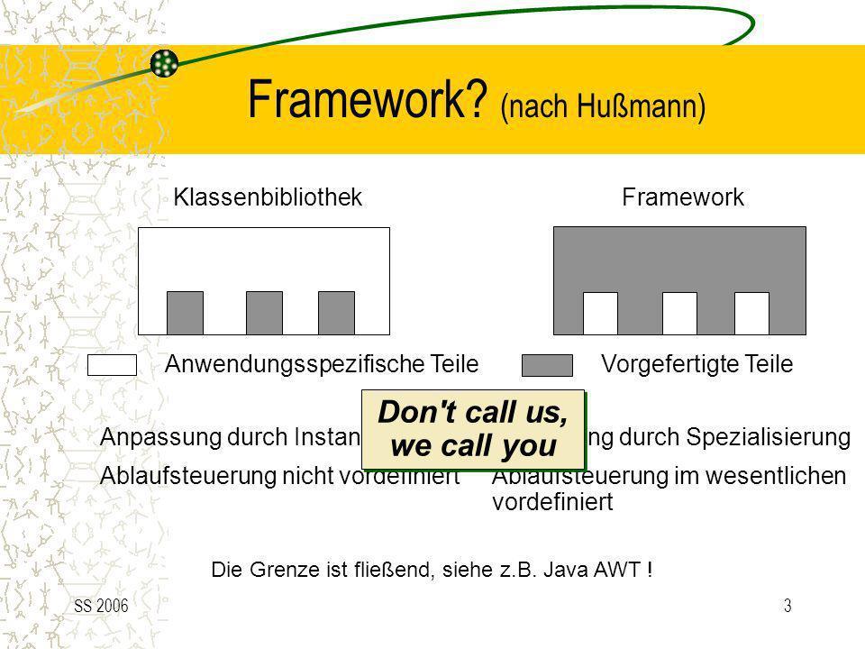 Framework (nach Hußmann)