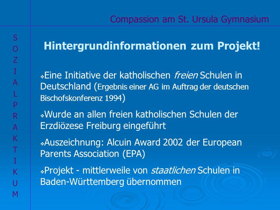 Hintergrundinformationen zum Projekt!