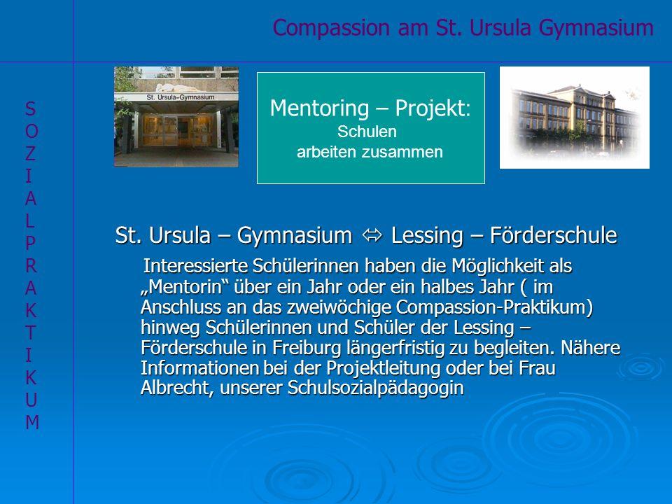 Compassion am St. Ursula Gymnasium