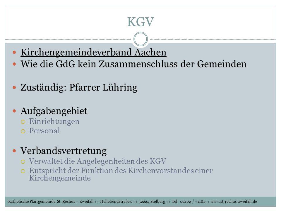KGV Kirchengemeindeverband Aachen