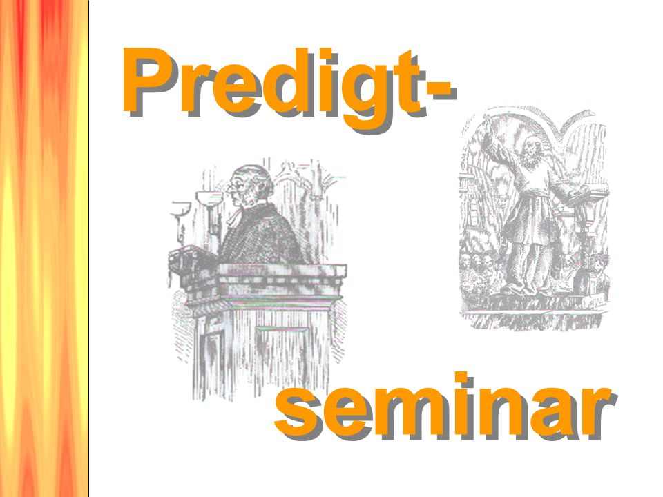 Predigt- seminar