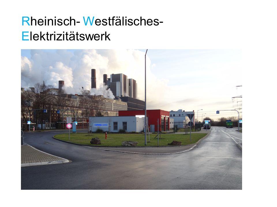 Rheinisch- Westfälisches-Elektrizitätswerk
