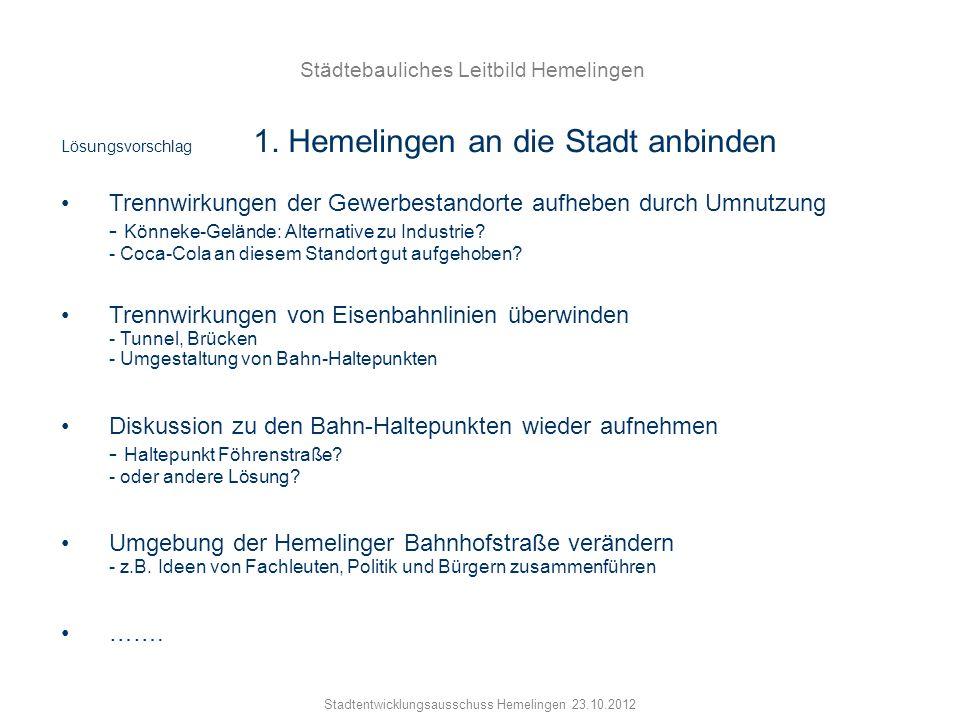Städtebauliches Leitbild Hemelingen