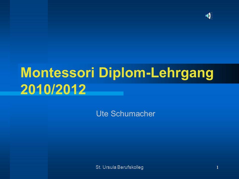 Montessori Diplom-Lehrgang 2010/2012