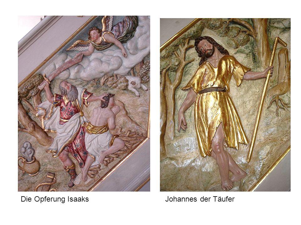 Die Opferung Isaaks Johannes der Täufer
