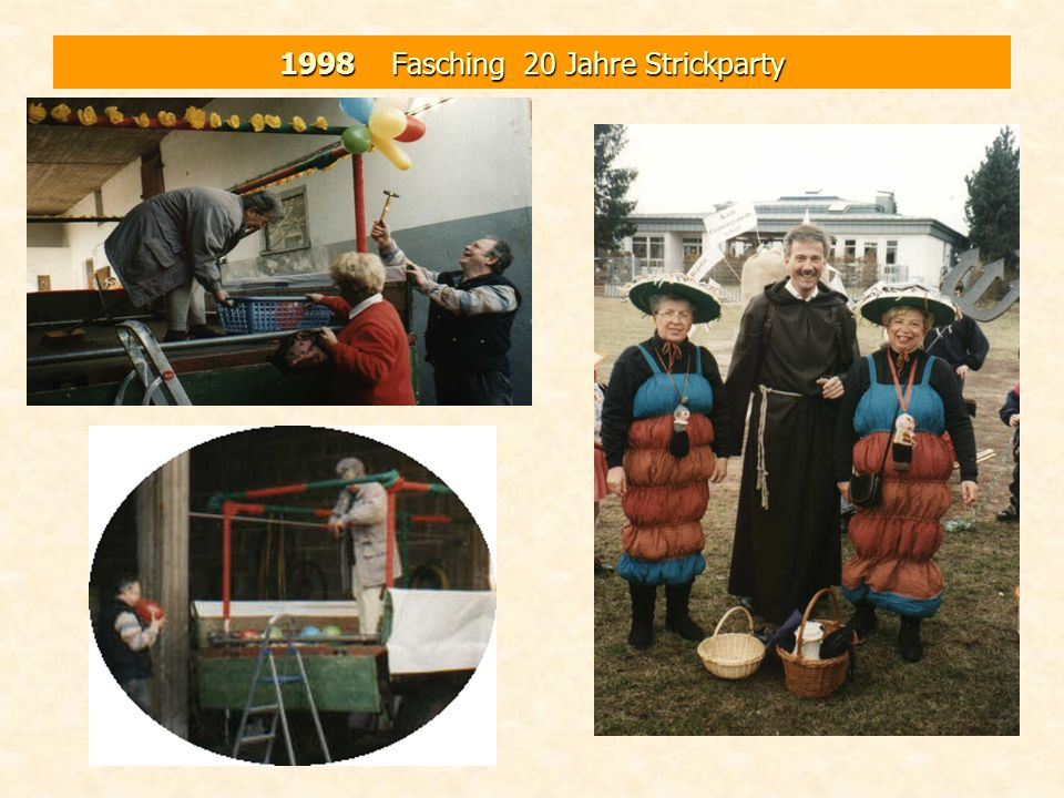 1998 Fasching 20 Jahre Strickparty