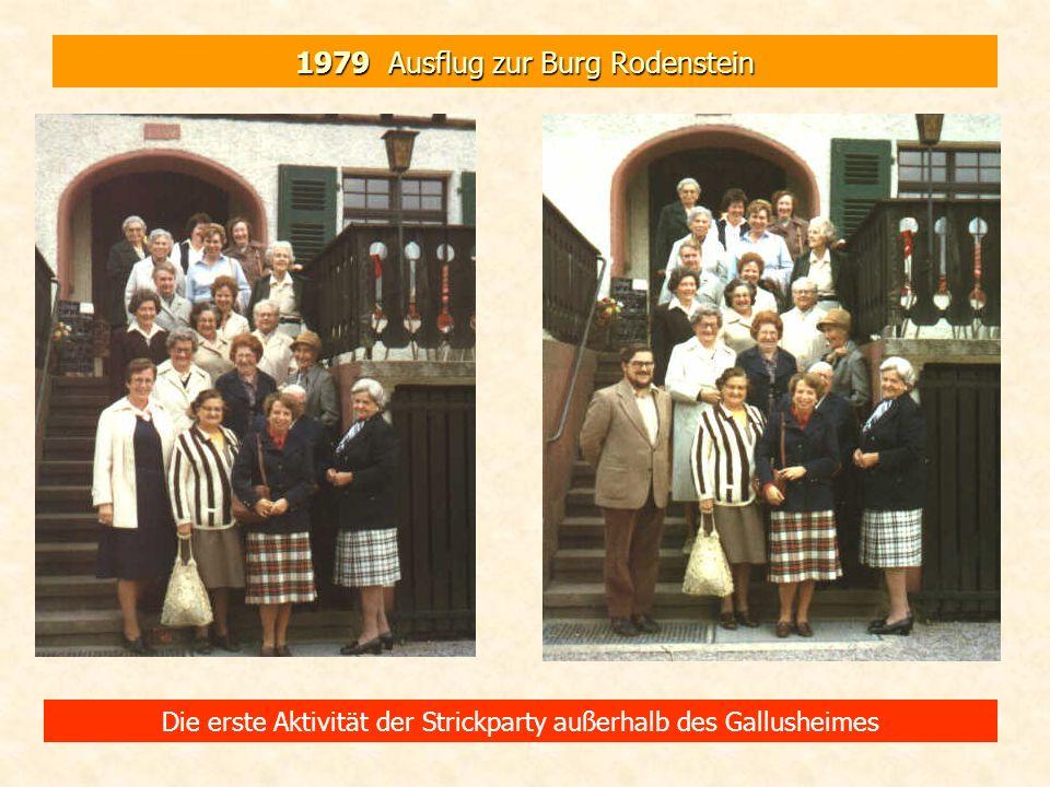 1979 Ausflug zur Burg Rodenstein