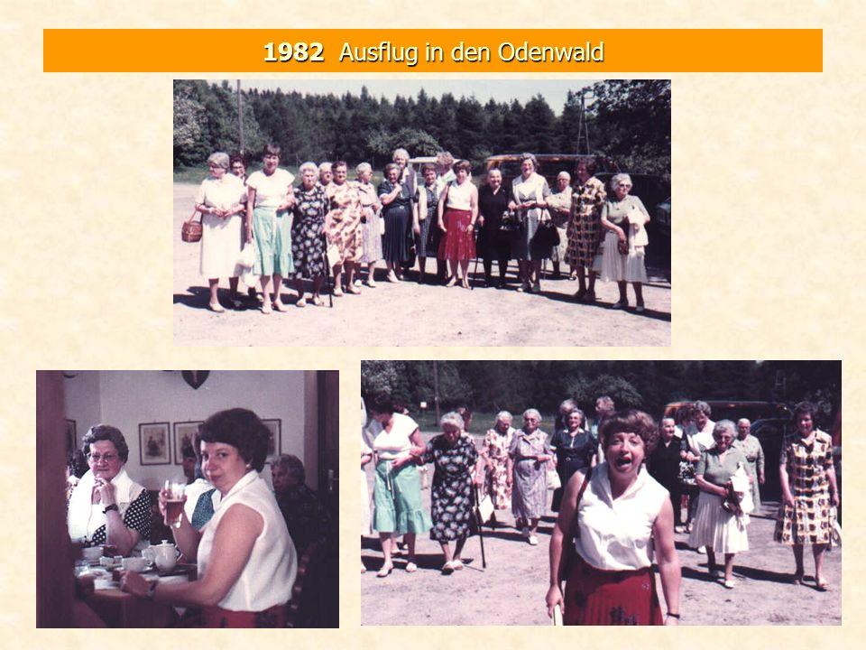 1982 Ausflug in den Odenwald