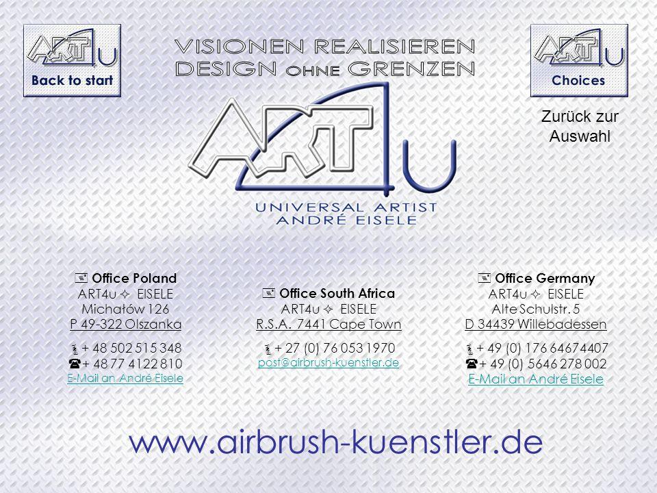 VISIONEN REALISIEREN DESIGN OHNE GRENZEN www.airbrush-kuenstler.de