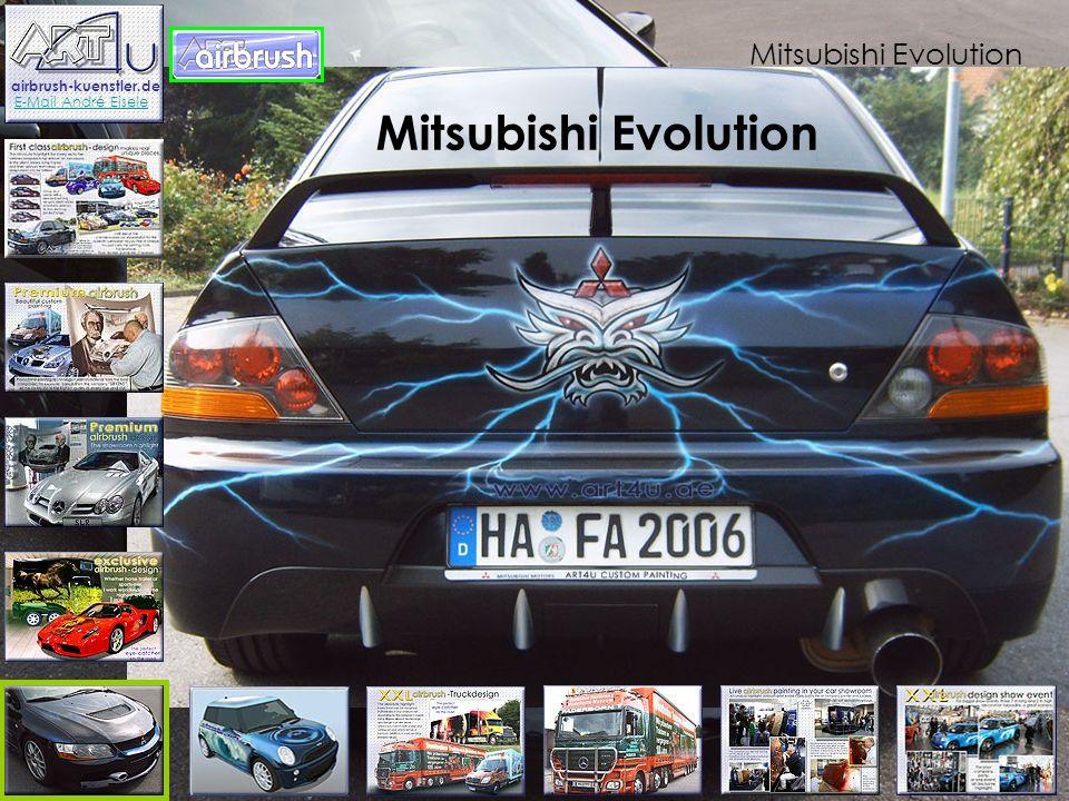 Mitsubishi Evolution Mitsubishi Evolution Vorarbeiten sind