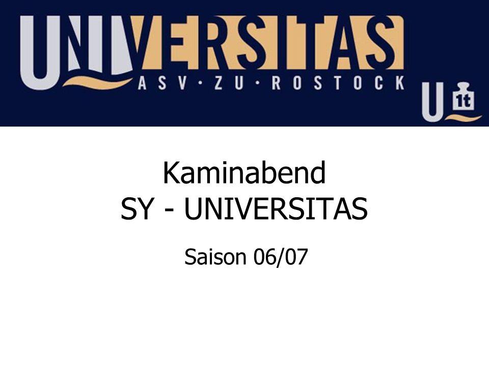 Kaminabend SY - UNIVERSITAS