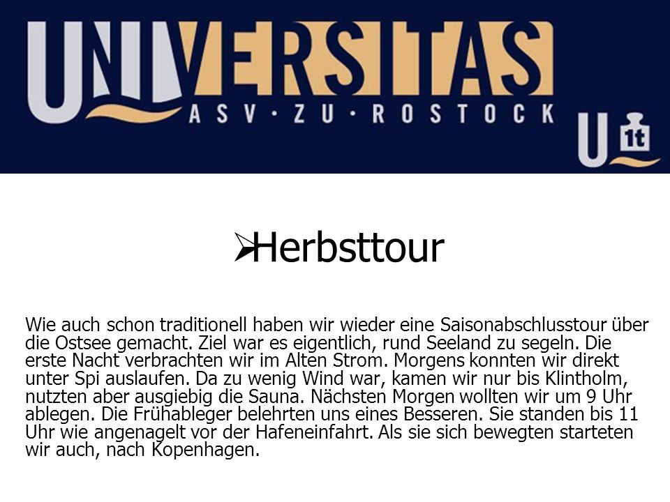 Herbsttour