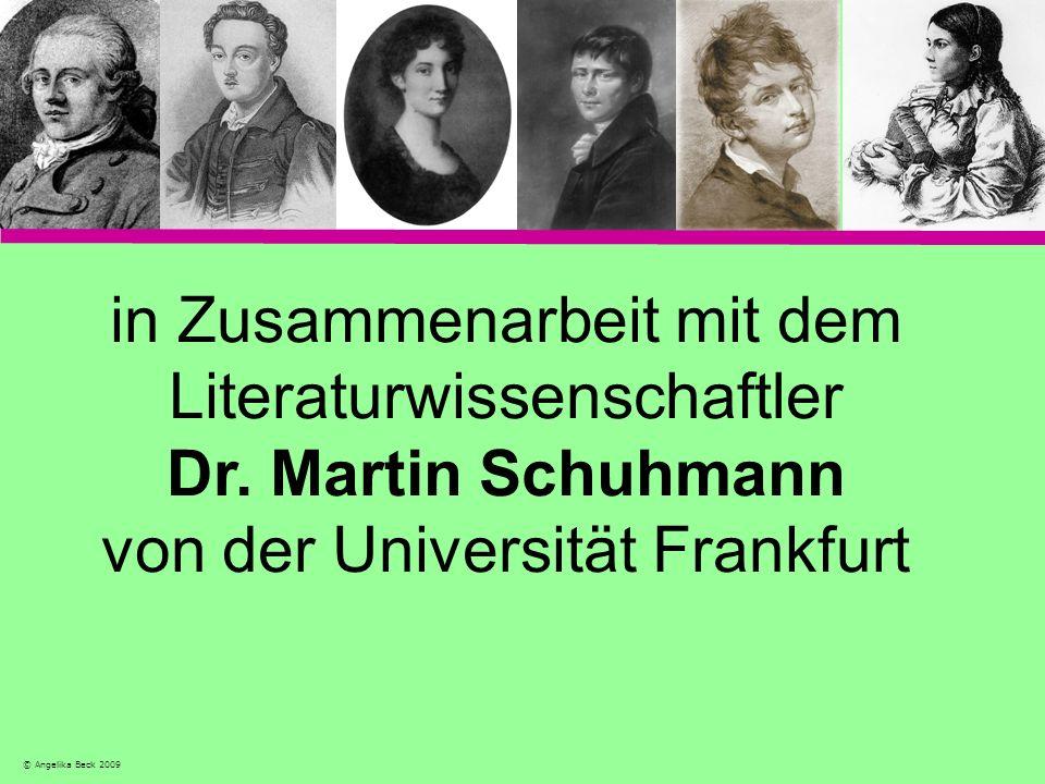 in Zusammenarbeit mit dem Literaturwissenschaftler Dr