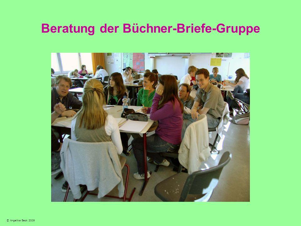 Beratung der Büchner-Briefe-Gruppe