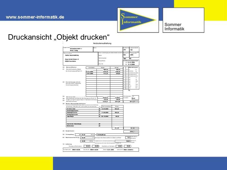 """Druckansicht """"Objekt drucken"""
