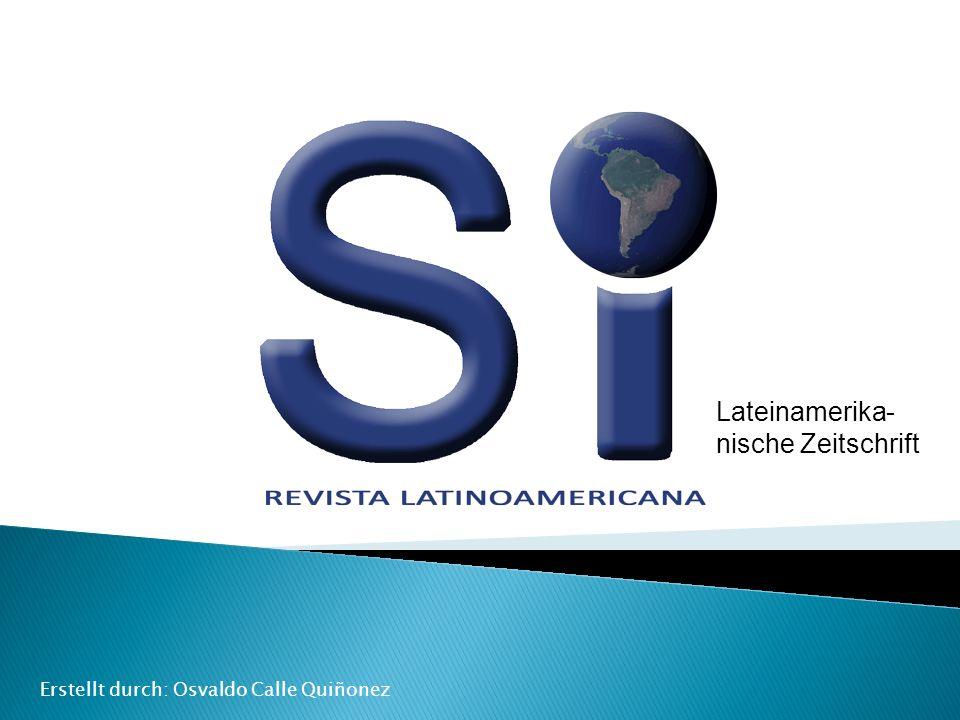 Lateinamerika-nische Zeitschrift