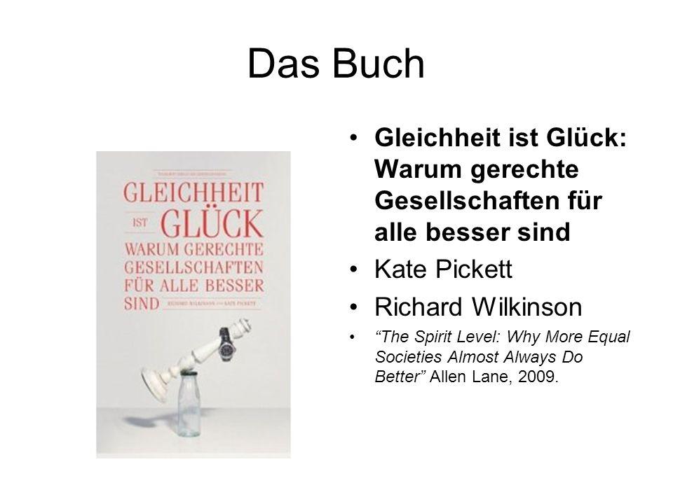 Das Buch Gleichheit ist Glück: Warum gerechte Gesellschaften für alle besser sind. Kate Pickett. Richard Wilkinson.