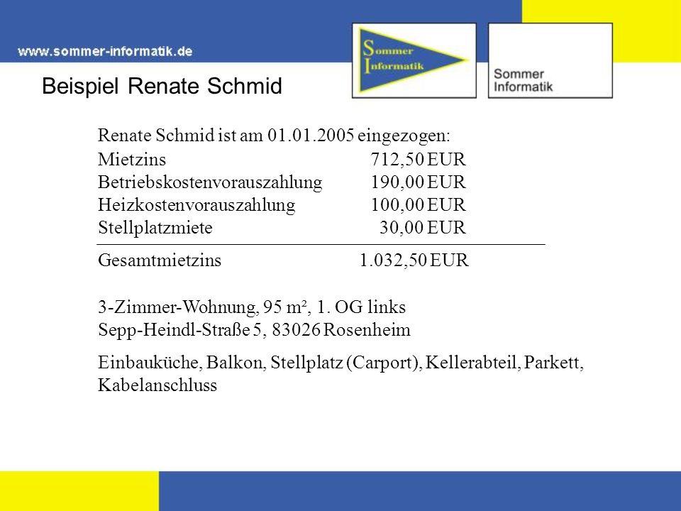 Beispiel Renate Schmid