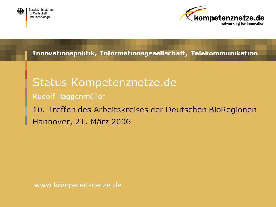 Status Kompetenznetze.de Rudolf Haggenmüller