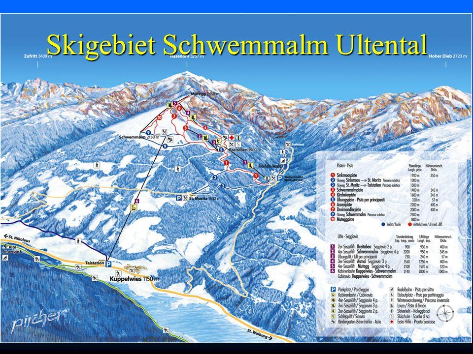 Skigebiet Schwemmalm Ultental
