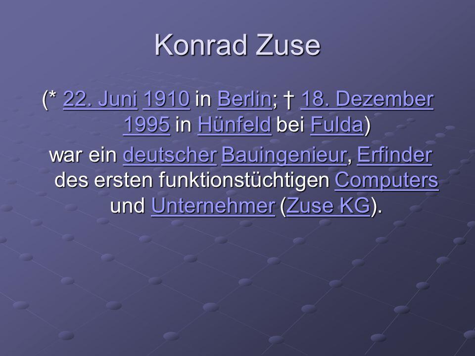 (* 22. Juni 1910 in Berlin; † 18. Dezember 1995 in Hünfeld bei Fulda)