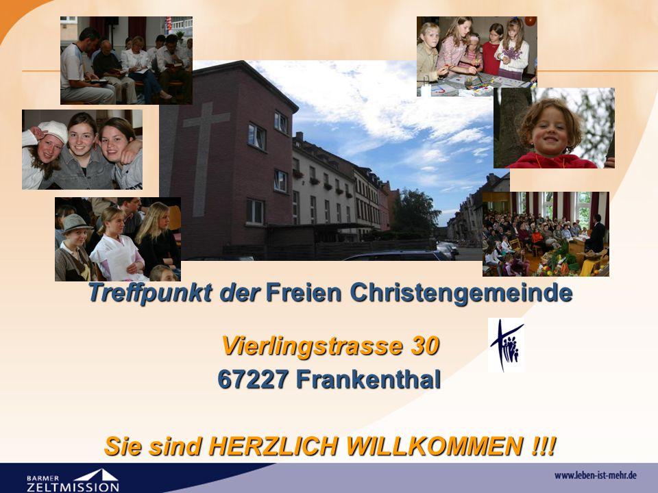 Treffpunkt der Freien Christengemeinde Vierlingstrasse 30